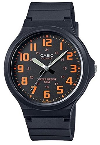 Casio watch with Movement Japanese Quartz Movement Unisex Unisex mw-240 - 4B 44 mm