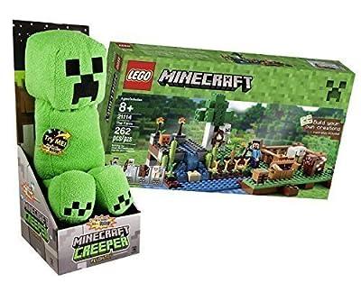 Minecraft Creeper Lego The Farm Bundle