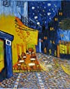 100% Hand Painted Art Abstract Oil Painting Modern Art Vincent van Gogh Oil Painting Cafe Terrace…