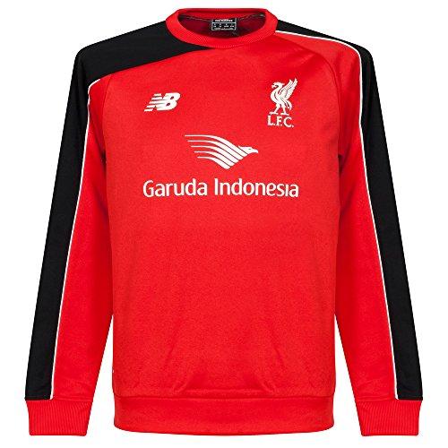 NEW BALANCE da uomo Liverpool FC Traning Maglione, Uomo, Liverpool FC Traning, rosso, M