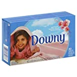 Downy Fabric Softener Sheets, April Fresh 80 sheets