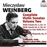 Sonates pour violon (Intégrale - Volume 2)