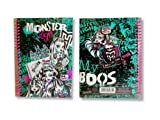 Monster High A5 Stationery Character Notebook