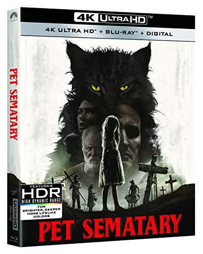 4K Blu-ray : Pet Sematary (2 Discos)