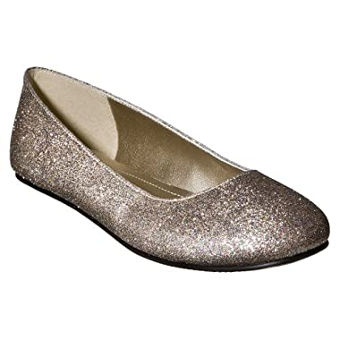 Product Image Mossimo Supply Co. Multi Wmn's Odell Glitter Ballet flat - 8.5
