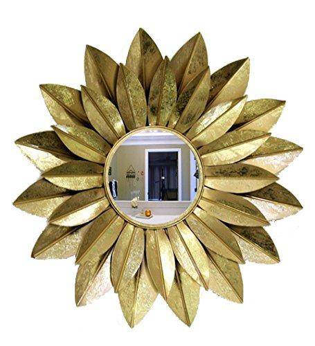 Venetian Design Leaf Design Wall Mirror - B016KDJSA8