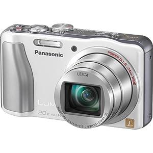 Panasonic Lumix ZS20 14.1 High Sensitivity MOS Digtial Camera with 20x Optical Zoom (White)