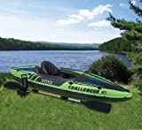 Search : New Intex One Person Challenger K1 Inflatable Kayak Kit with Paddle & Pump l 68305EP