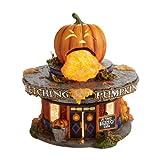Halloween Snow Village from Department 56 Retching Pumpkin Diner