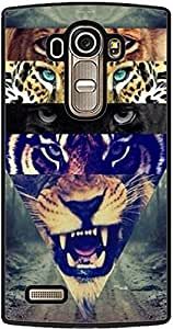 PrintVisa 2D-LGG4-D8149 Animal Wild Cats Case Cover for LG G4