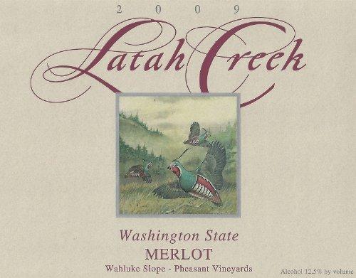 2009 Latah Creek Winery Wahluke Slope Merlot 750 Ml