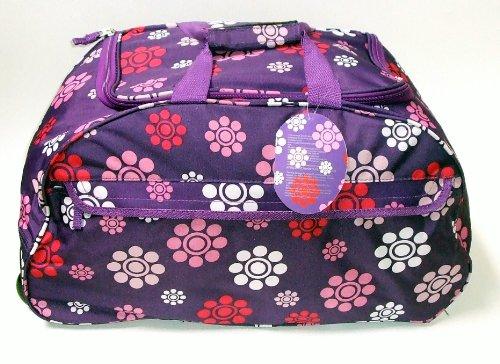 buy 22 wheeled womens maternity bag ladies sports gym holdall on wheels purple at wheeled holdalls. Black Bedroom Furniture Sets. Home Design Ideas