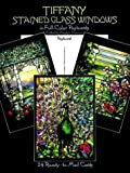 img - for By Author Tiffany Stained Glass Windows: in Full-Color (Post) Cards: 24 Cards (Dover Postcards) (First) book / textbook / text book