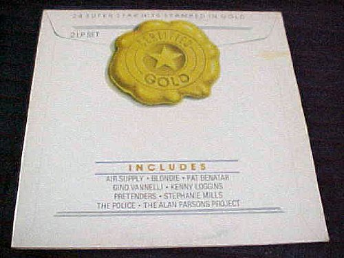 Project Pat - Certified Gold 2 Lp Set (24 Super Star Hits Stamped In Gold) By Air Supply, Pat Benatar, Fino Vannelli, Kenny Loggins, Pretenders, Stephanie Mills, The Police, The Alan Parsons Project Record Vinyl Album - Zortam Music