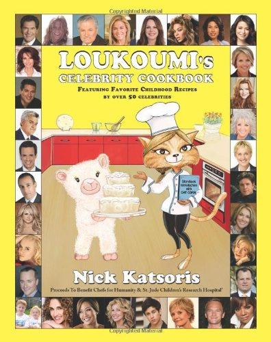 Loukoumi's Celebrity Cookbook: Nick Katsoris, Cat Cora, Al ...