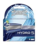 Wilkinson Sword Hydro 5 Blades Refill (Pack of 4)