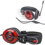2 Pack PC Headset Headphone Computer Earphone Microphone Mic for Skype MSN GTALK [Retail Packaging]