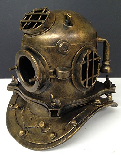 Deep Sea Diving Helmet Nautical Reproduction Tin