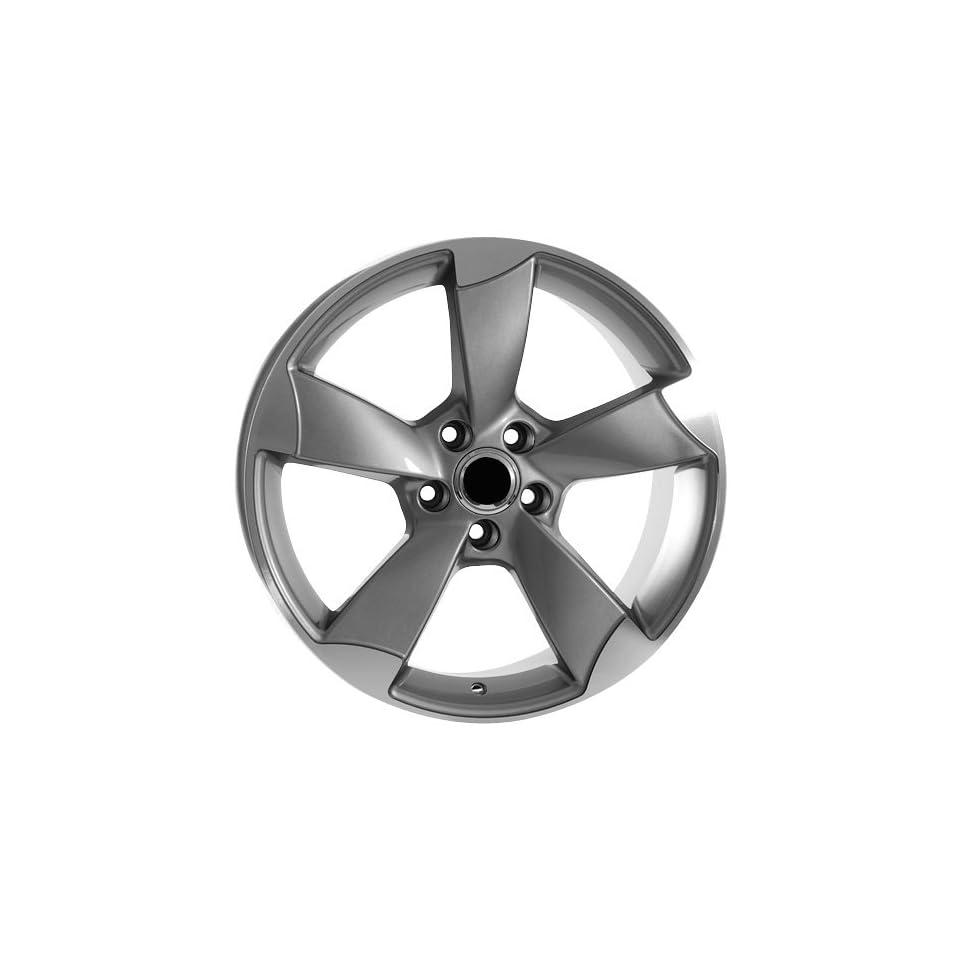 18 Inch Gunmetal Rims Volkswagen Wheels EOS Jetta GTI Golf CC