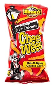 CheeWees Hot-N-Spicy 2.0 oz (6 Bags)