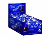 A delicate dark chocolate shell enrobes an irresistibly smooth dark chocolate center.