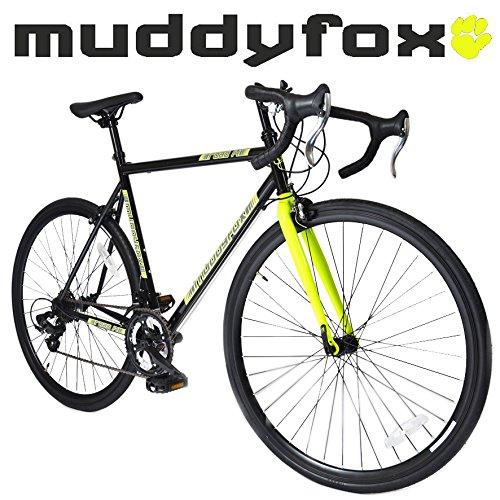 Muddyfox Road 14 - 700C Wheel Touring Road Bike in Black and Yellow - 14 Speed