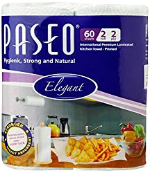 Paseo Tissues Printed Kitchen Towels - 2 Rolls