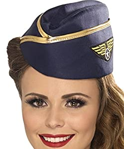 Foxxeo 35010 | Stewardess Mütze