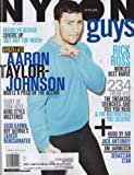 Nylon Guys 2014 May - Aaron Taylor Johnson + 8 More Pages Inside Magazine