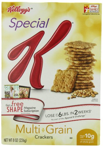 Special K Crackers, Multi-Grain, 8-Ounce Packages (Pack of 4)