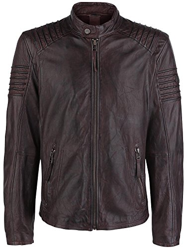 Gipsy Copper Giacca pelle bordeaux S