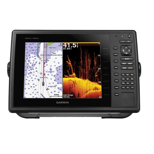 Garmin 010-01184-00 GPSMAP 1040xs Chartplotter/Sonar Combo with DownVu Transducer