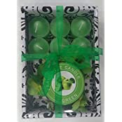 Fragrance Candle Gift Sets(5x16.5x11.5 Cms,Green)