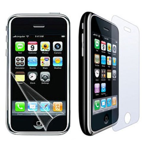 LCD Crystal Clear Screen Protector for APPLE iPhone 3G/3GS
