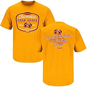 Tampa Bay Buccaneers Fans. Jameis' Famous Crab Shack Orange T-Shirt (S-5X)