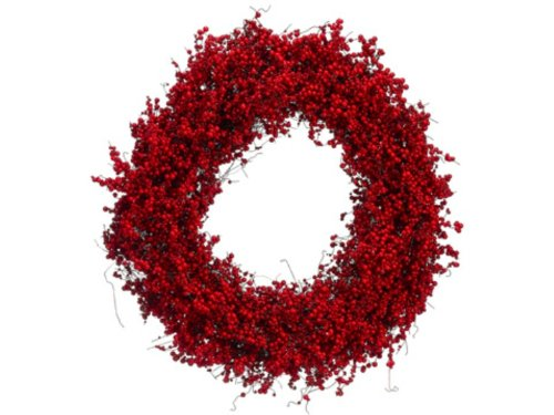 21″ Decorative Artificial Red Berry Christmas