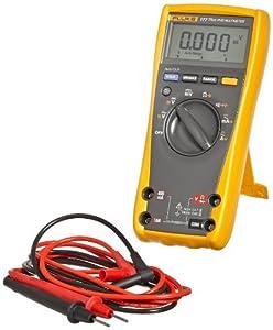 Fluke 177 ESFP True RMS Digital Multimeter with Backlight, 50 Megaohm Resistance, 1000V AC/DC Voltage, 10A AC/DC Current
