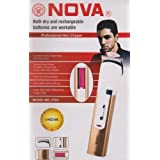 Rechargeable Trimmer Nova Professional Hair Clipper 3783 Hair Trimmer