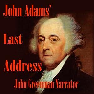 John Adams' Last Address Audiobook