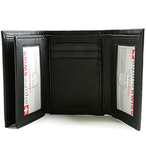 Best and unique alpine swiss men s wallet updated 2016 for 2 id window wallet