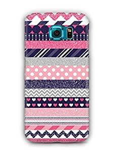 Cover Affair Patterns Printed Back Cover Case for Samsung Galaxy S7