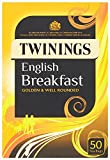 Twinings English Breakfast 50 Teabags (Pack of 4,Total 200 Teabags)
