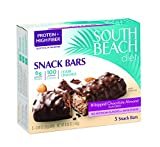 South Beach Diet Snack Bars, Whipped Chocolate Almond, 0.98 Ounce, 5 Count (Pack of 8)