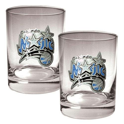 Orlando Magic NBA Rocks Glass Set