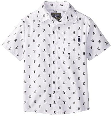 Company 81 Boys 2-7 Skull Print Woven Shirt by Company 81