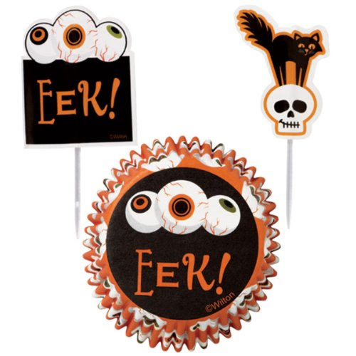 [Cupcake Combo Pack 24/Pkg-Grave] (Easy Decorated Halloween Cupcakes)