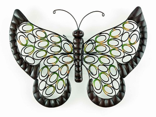 "Gardman 8417 Butterfly Wall Art, 20"" Long x 16"" Wide - 1"
