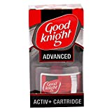 #1: Good knight Plastic Advanced Activ+ Cartridge (Red) 45 ML