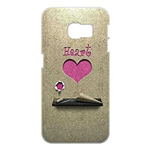 a AND b Designer Printed Mobile Back Cover / Back Case For Samsung Galaxy S6 Edge (SG_S6Edge_3D_439)