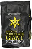 Montezuma's Chocolates Organic Smooth Milk Chocolate Giant Buttons 180 g (Pack of 5)